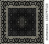 design print for kerchief. the... | Shutterstock .eps vector #1332797123