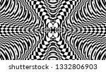 black and white glitch... | Shutterstock .eps vector #1332806903