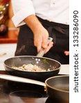 chef at work   Shutterstock . vector #133286090
