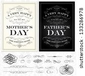 ,background,black,border,calligraphic,calligraphy,classic,dad,elegant,fancy,father,fathers day,frame,holiday,invitation