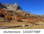 vallee de la claree during a... | Shutterstock . vector #1332877889