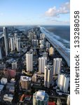 urban aerial view   surfers... | Shutterstock . vector #133288058