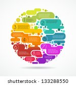 colorful abstract background... | Shutterstock .eps vector #133288550