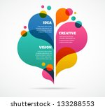 abstract colorful background... | Shutterstock .eps vector #133288553