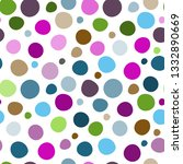 seamless pattern with colorful... | Shutterstock .eps vector #1332890669
