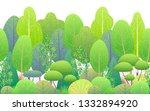 seamless line horizontal... | Shutterstock .eps vector #1332894920
