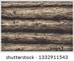 texture of a wall of wooden...   Shutterstock .eps vector #1332911543