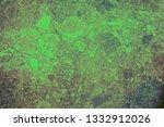 green grunge abstract ... | Shutterstock . vector #1332912026