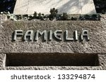 milan   old grave at the... | Shutterstock . vector #133294874