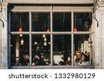 london  uk   february 03  2019  ... | Shutterstock . vector #1332980129