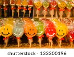 colourful lollies | Shutterstock . vector #133300196