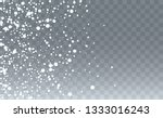 winter snowfall background.... | Shutterstock .eps vector #1333016243