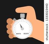 mortality   mortal person is...   Shutterstock .eps vector #1333023440