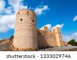 rustaq fort in al batinah... | Shutterstock . vector #1333029746