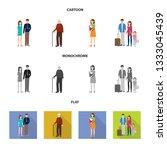 vector design of character and... | Shutterstock .eps vector #1333045439