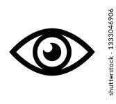 eye icon vector. eye symbol.... | Shutterstock .eps vector #1333046906