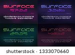 sci fi futuristic technology... | Shutterstock .eps vector #1333070660