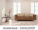 white stylish minimalist room... | Shutterstock . vector #1333122929