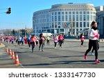 minsk  belarus   march 8  2019  ... | Shutterstock . vector #1333147730