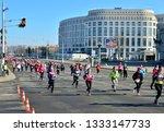 minsk  belarus   march 8  2019  ... | Shutterstock . vector #1333147733