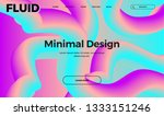 trendy abstract design template ... | Shutterstock .eps vector #1333151246