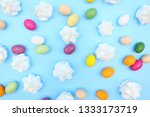 colorful easter composition | Shutterstock . vector #1333173719