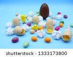 colorful easter composition | Shutterstock . vector #1333173800