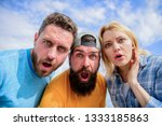 that is impossible. shocking...   Shutterstock . vector #1333185863