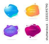 abstract templates. original...   Shutterstock .eps vector #1333195790