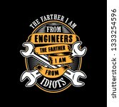 engineer quote and saying good... | Shutterstock .eps vector #1333254596