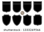 badge shape set vector template | Shutterstock .eps vector #1333269566