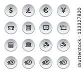 financial and money icon set ... | Shutterstock .eps vector #133327820