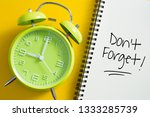 don't forget notice reminder...   Shutterstock . vector #1333285739