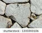 antique old cracked stone wall... | Shutterstock . vector #1333303106