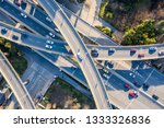 aerial view of a massive... | Shutterstock . vector #1333326836
