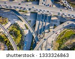 aerial view of a massive... | Shutterstock . vector #1333326863