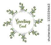 vector illustration greeting... | Shutterstock .eps vector #1333334663