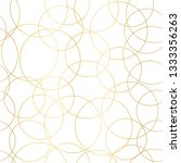 gold foil circles abstract... | Shutterstock .eps vector #1333356263