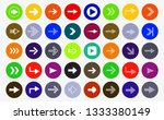 set of forty arrows to the... | Shutterstock .eps vector #1333380149