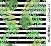 beautiful tropical abstract... | Shutterstock .eps vector #1333412906