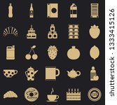 ale icons set. simple set of 25 ... | Shutterstock .eps vector #1333415126