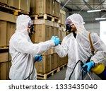 industrial pest control | Shutterstock . vector #1333435040