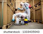 industrial pest control | Shutterstock . vector #1333435043