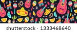 cinco de mayo pattern for... | Shutterstock .eps vector #1333468640