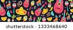cinco de mayo pattern for... | Shutterstock .eps vector #1333468640