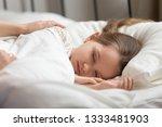 loving mom hands touching... | Shutterstock . vector #1333481903