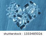 toned image of the heart of... | Shutterstock . vector #1333485026