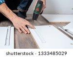 close   up of men's hands... | Shutterstock . vector #1333485029