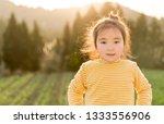 lovely asian girl in the...   Shutterstock . vector #1333556906