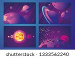 space horizontal background... | Shutterstock .eps vector #1333562240